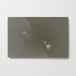 Orion objects Metal Print