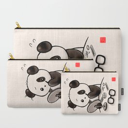 Panda Makeup Carry-All Pouch