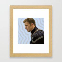 Chris Evans Framed Art Print