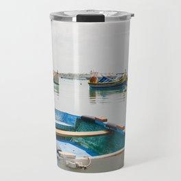 Fishing Boat - Marsaxlokk, Malta Travel Mug
