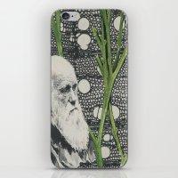 darwin iPhone & iPod Skins featuring Darwin-ing by Eleanor Boersma