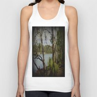 murray Tank Tops featuring The Mighty Murray River by Chris' Landscape Images & Designs