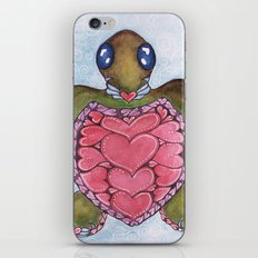 I Heart Sea Turtles iPhone & iPod Skin