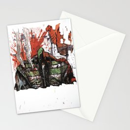 Angry morning Stationery Cards