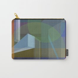 3D blocks and strokes Carry-All Pouch