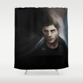 You could say he has a few~ Supernatural qualities Shower Curtain