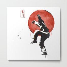 The Karate Kid Metal Print