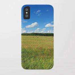 Summer field #society6 #buyart #buy #decor iPhone Case
