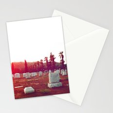The death of California Stationery Cards