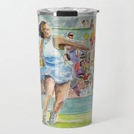 Serena Williams_Pro tennis player Travel Mug