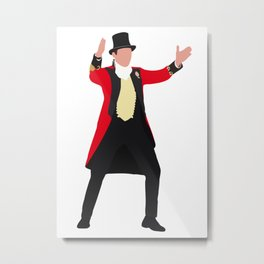 P.T. Barnum The Greatest Showman movie Metal Print