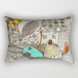 The Robbers Dog Rectangular Pillow