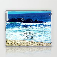 PULL ME INTO YOUR DEPTHS II  Laptop & iPad Skin