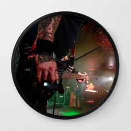 Bassic Black Wall Clock