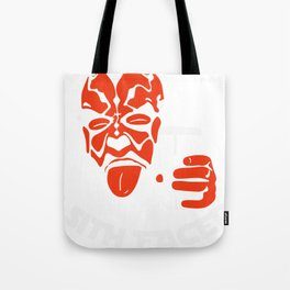 Let's Get Sith Faced (2) Tote Bag