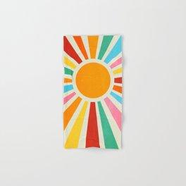 Retro Sunrise: Rainbow Edition Hand & Bath Towel