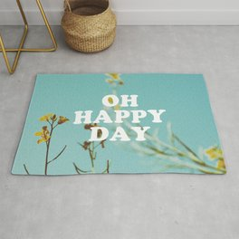 Oh Happy Day Rug