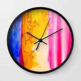 Winter Pink 2 Wall Clock