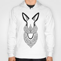 rabbit Hoodies featuring Rabbit by Art & Be