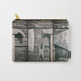 Old rusty tools Carry-All Pouch