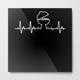 Heart For Crickets Metal Print