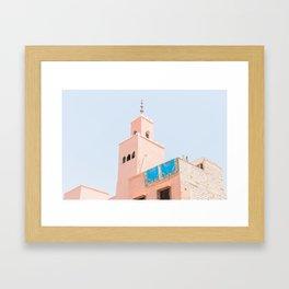 Marrakech Mosque Framed Art Print