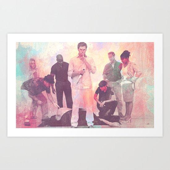 Dexter TV Series Art Print