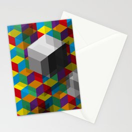 Isometric Colour Stationery Cards