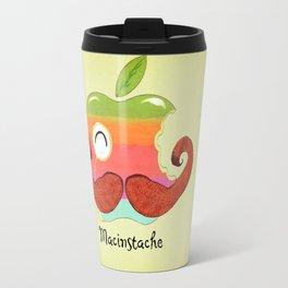 The Macinstache Travel Mug