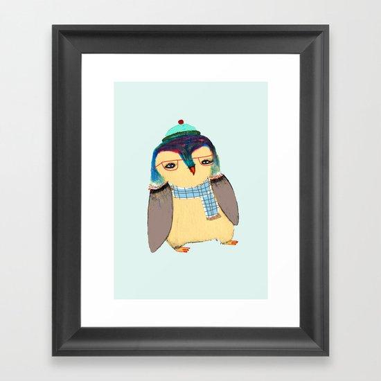 Cute Penguin Framed Art Print