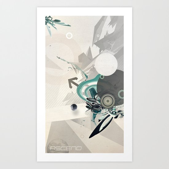 ASCEND (version zero) Art Print