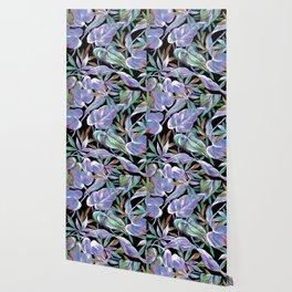 Spring tropical leaves Wallpaper