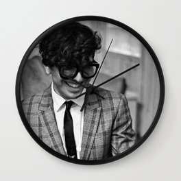 Birds in the Boneyard, Print 15: Petey at the Piano Wall Clock