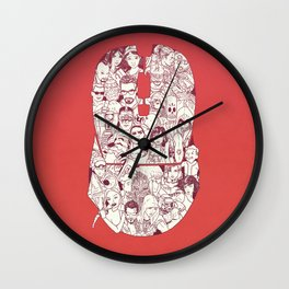 Adulthood - Mashup Wall Clock