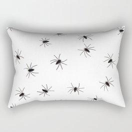 Spiders | Arachphobia | Happy Halloween | Gothic love | Bugs Rectangular Pillow