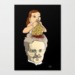 Dinner with Strindberg Canvas Print