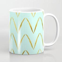 Mint Gold Foil 05 Coffee Mug