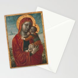 Madonna and Child by Vincenzo Foppa, 1480 Stationery Cards