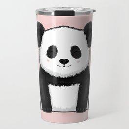 Fluffy Panda Travel Mug