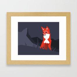 On The Hunt Framed Art Print