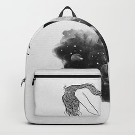 Hands from heaven. Backpack