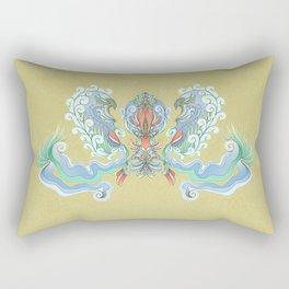 """Avis """"Blue"""" Rectangular Pillow"""