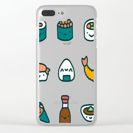 Sushi Lover Clear iPhone Case