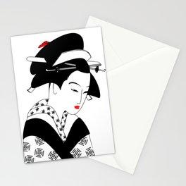 Japanese Girl Stationery Cards