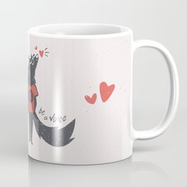 Howl to the Heart Coffee Mug