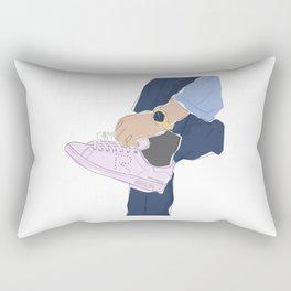 Sneakers Raf Simons Rectangular Pillow