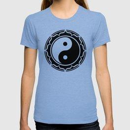 Yin Yang Lotus Flower T-shirt