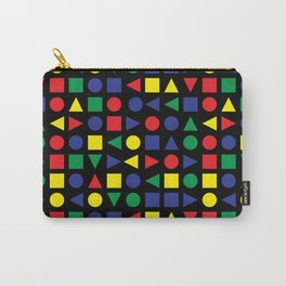 Mid Century Geometric Carry-All Pouch