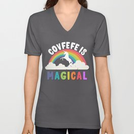Covfefe Is Magical Unisex V-Neck
