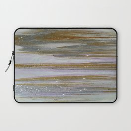 Gold and Silver Deluge Laptop Sleeve
